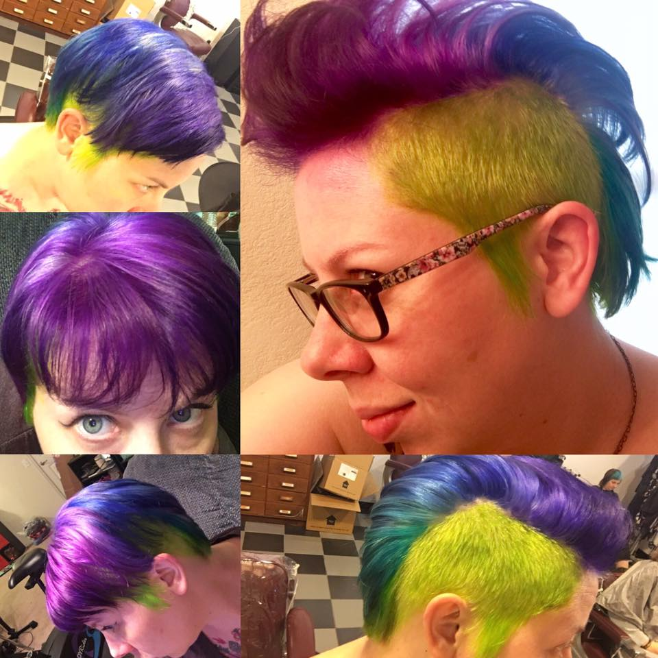 Primary Color Hair at Bombshell Hair Shop