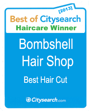 CitySearch Winner Bombshell Hair shop