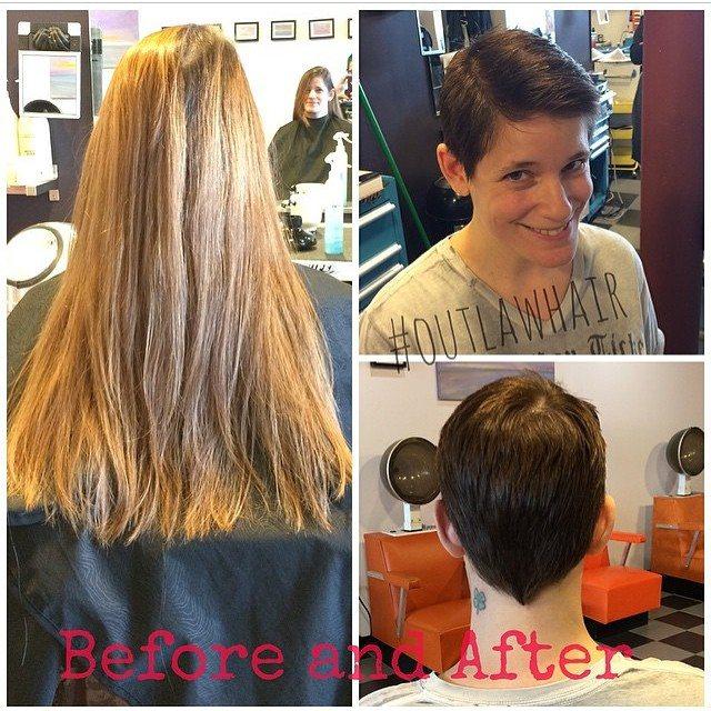 Transformation at Bombshell Hairshop