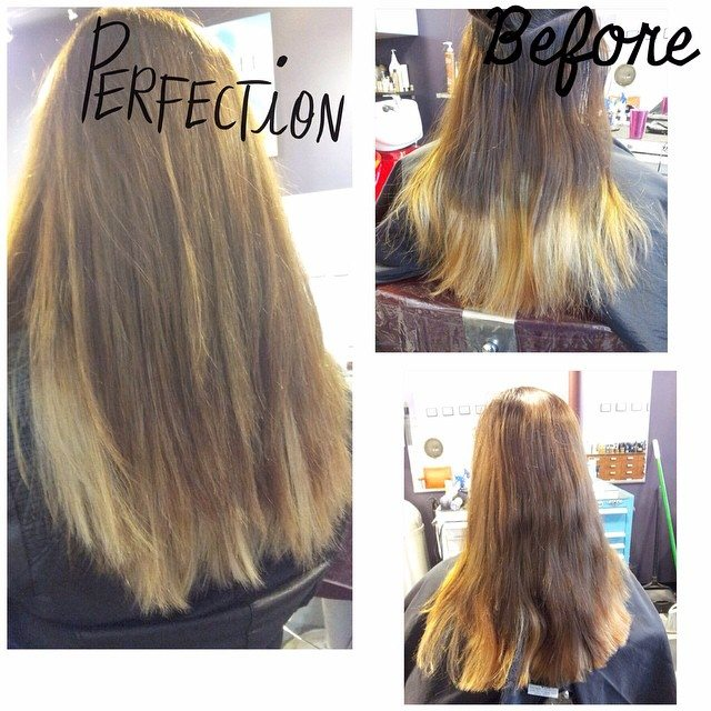 Perfection at Bombshell Hairshop